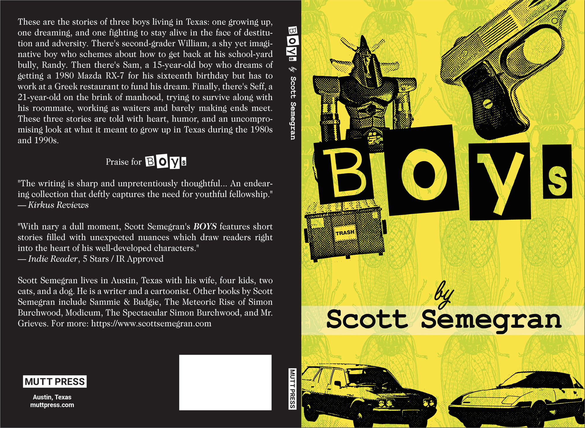 boys full cover